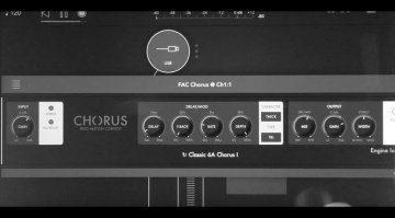 Fred Anton Corvest FAC Chorus - der vielseitige Chorus Effekt für das iPad