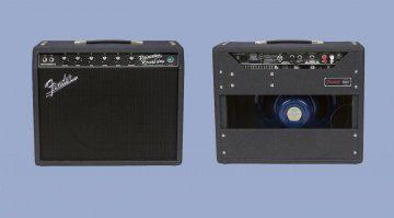 Fender 68 Princeton Reverb FSR Front Back