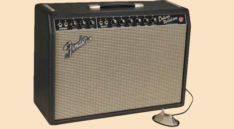Fender Custom Deluxe Reverb Blackface 1964 Reissue