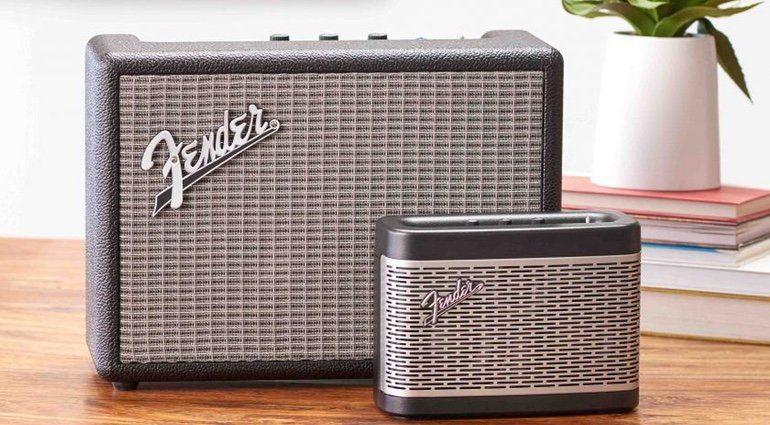 Fender Newport Monterey Bluetooth Amp Front