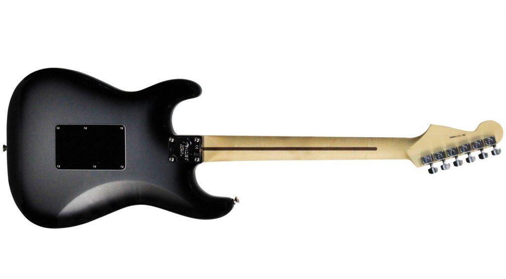 Fender Silverburst Stratocaster HSS Back