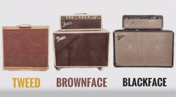 Fender Tweed Blackface Brownface Shootout
