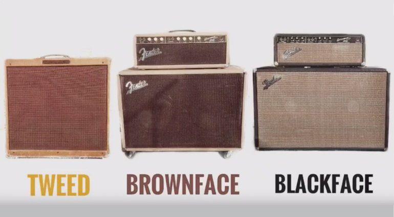 Fender Tweed Blackface Brownface Shootout