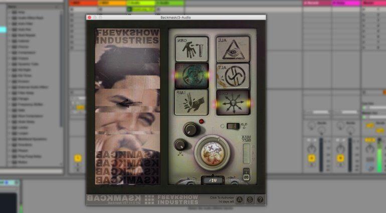 Freakshow Industries Backmask - chaotisch Samples umkehren