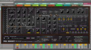 Full Bucket Music FB-3100 - Korg PS-3100 Emulation für Windows