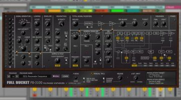 Full Bucket Music FB-3100 - Korg PS-3100 Emulation für Windows