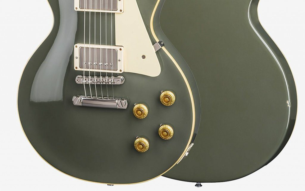 Gibson Les Paul Standard Oxford Gray Close Up