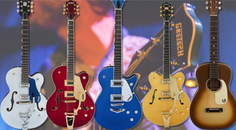 Gretsch - New Products Summer NAMM 2017