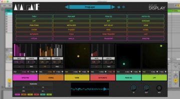 Inear Display Amalgame - komplexe virtuelle Multieffektketten