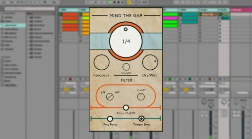 Luke Zeitlin Mind The Gap - das kostenlose Tape Delay Plug-in
