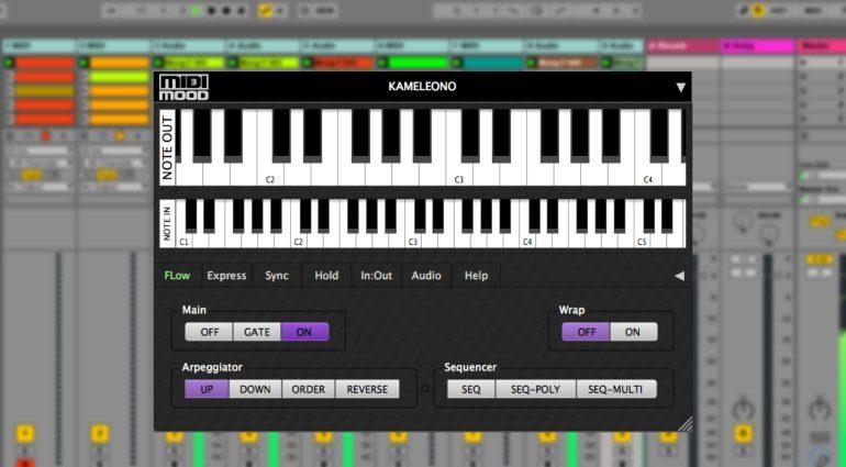 MIDI Mood Kameleono - das vielseitige Arpeggio Tool wird VST