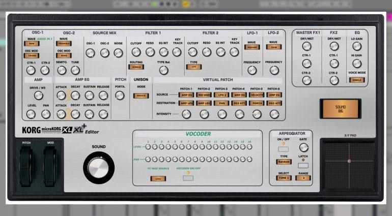 Momo Müller Korg MicroKorg XL und XL+ MIDI Editor