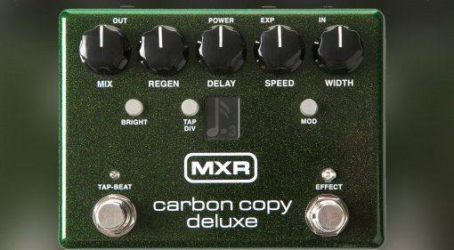 MXR Carbon Copy Deluxe Pedal Front