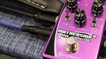 Pigtronix Mothership 2 analogue synth pedal