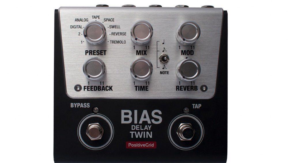 Positive Grid BIAS Delay Twin