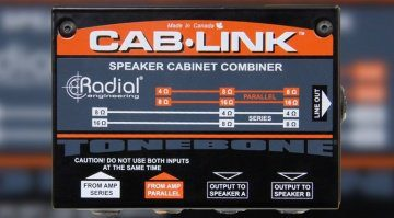 Radial Engineering Tonebone CabLink Front