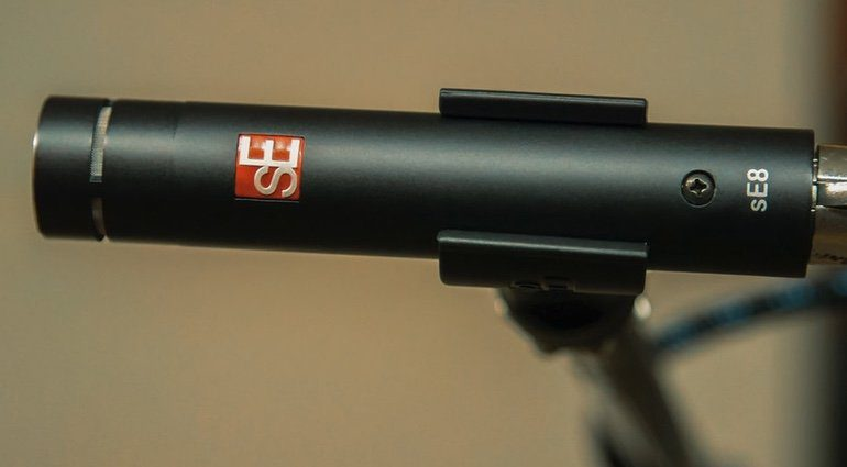 sE Electronics se8 Kleinmembran Kondensator Mikrofon Seite