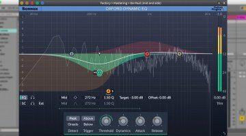 Sonnox Oxford Dynamic EQ - neues GUI für einen besseren Sound?
