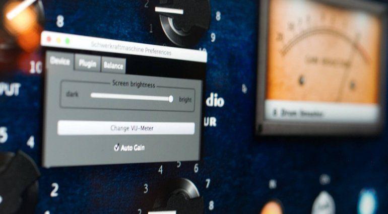 Tegeler Audio Manufaktur Schwerkraftmaschine Firmware 1.5.0 Update