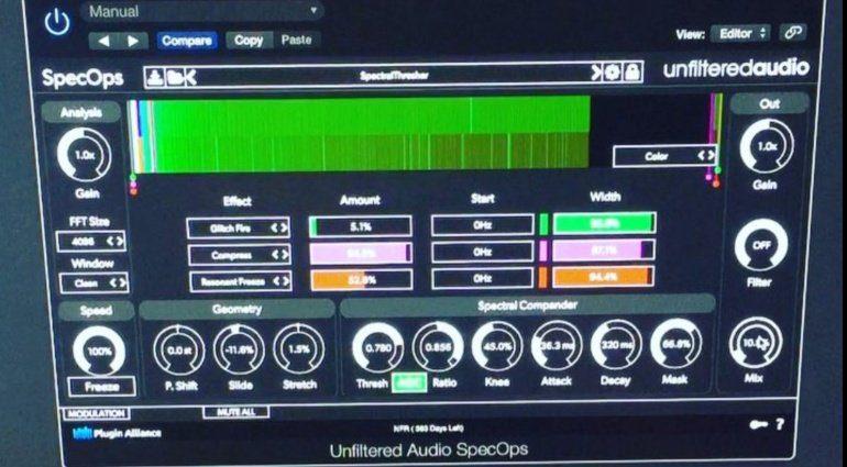 Unfiltered Audio SpecOps - modularer spektraler Special FX