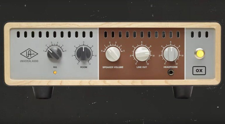 Universal Audio OX Attenuator Front Teaser
