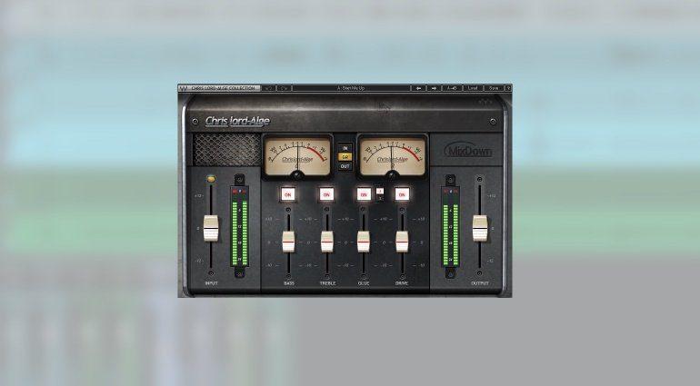 Waves CLA Mixdown Plug-in GUI Studio One