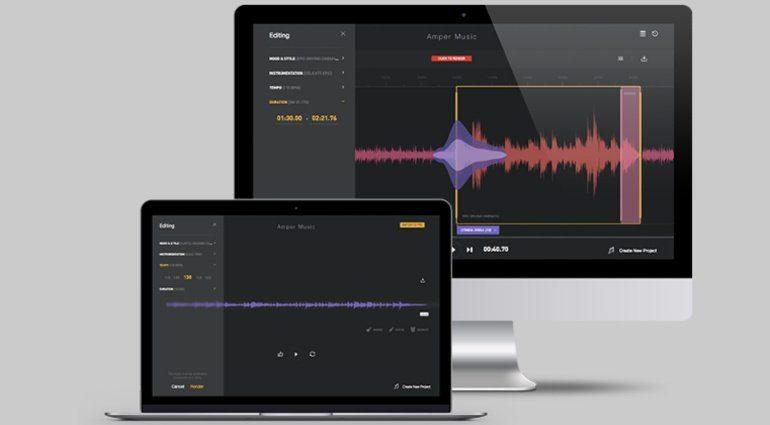Amper AI - Album komponieren auf Knopfdruck?
