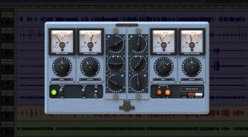 Audified RZ062 PLug-in GUI Pro Tools