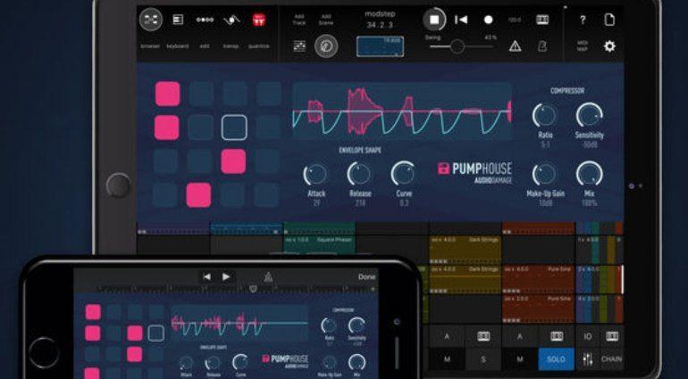 Audio Damage Pumphouse - iOS Kompressor mit Pump