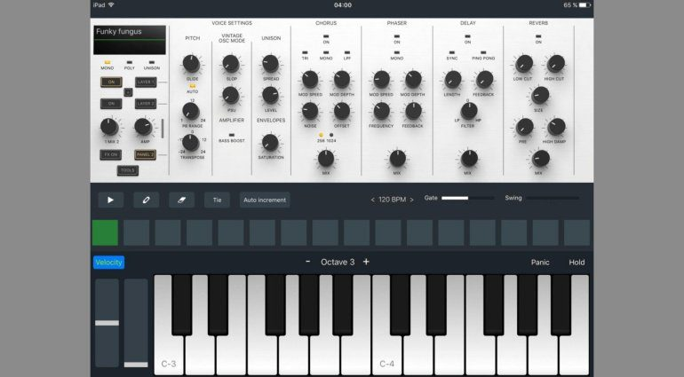 BeepStreet Zeeon Synthesizer - Analog Modelling für das iPad