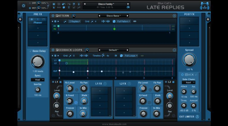 Blue Cat Audio Late Replies - Multieffekt-Delay und mehr