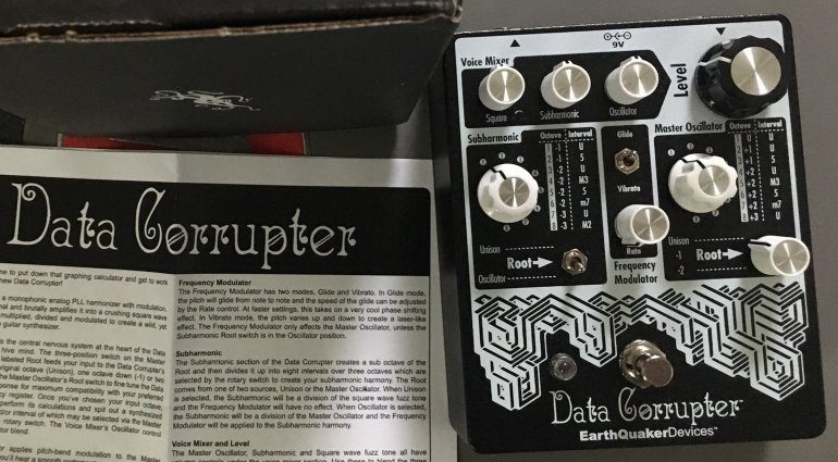 Earthquaker Devices Data Corrupter Pedal Leak