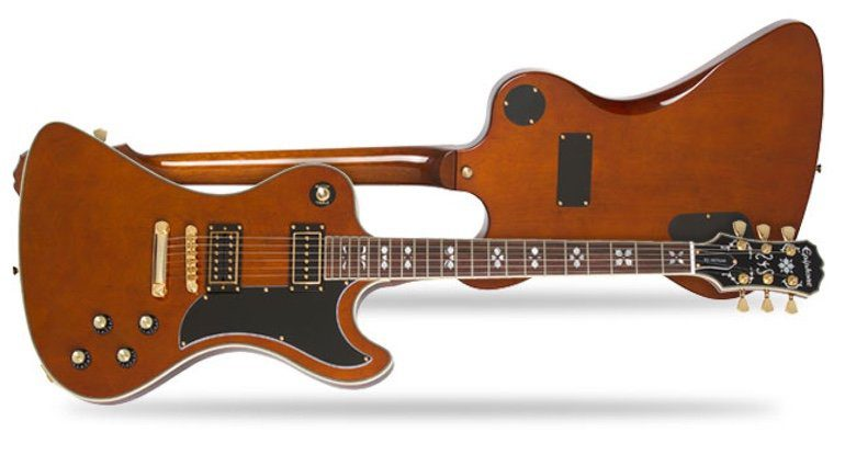 Epiphone RD Lee Malia BMTH Signature Artisan Front Back
