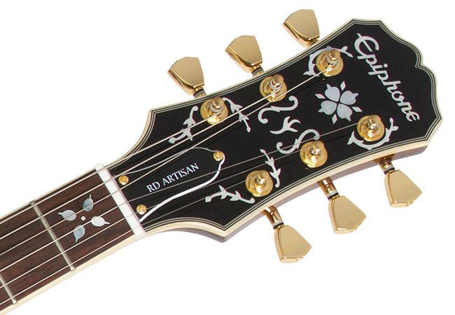 Epiphone RD Lee Malia BMTH Signature Artisan Headstock