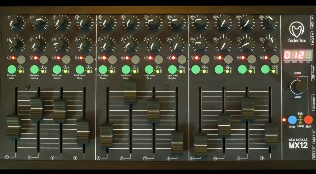 Faderfox MX12 Front Teaser