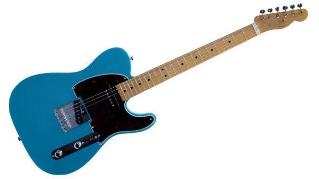 Fender FSR P 90 loaded Telecaster in Lake Placid Blue