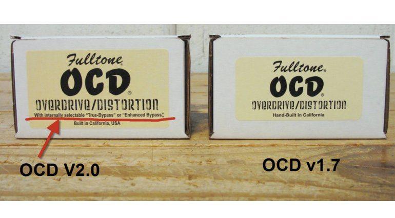 Fulltone OCD V2 Aenderungen 2