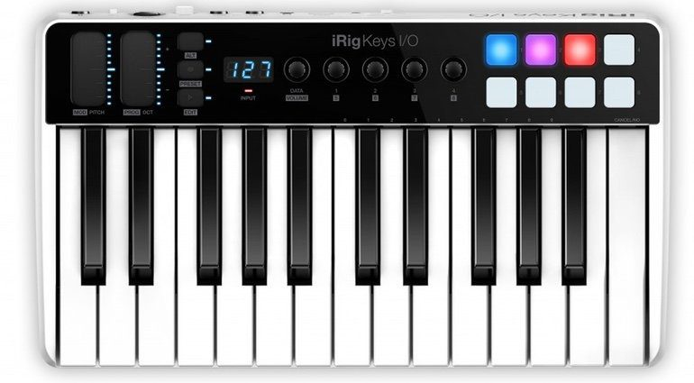 IK Multimedia iRig Keys IO 25 Front