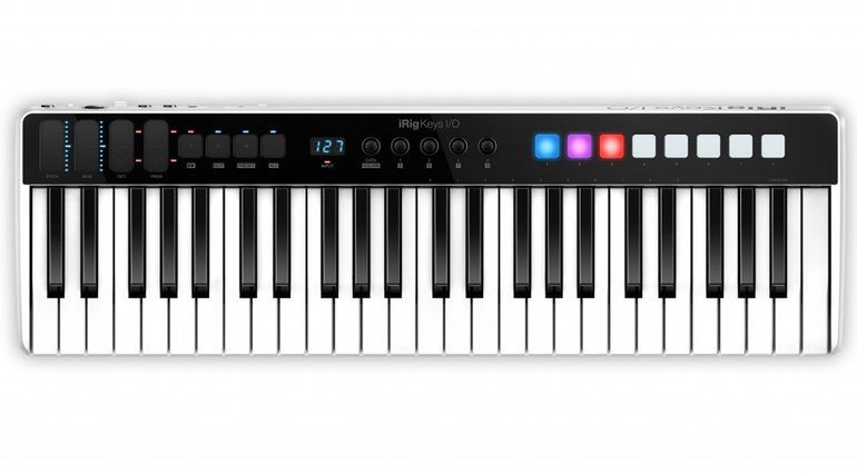 IK Multimedia iRig Keys IO 49 Front