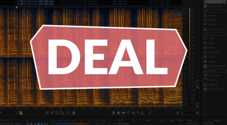 Izotope RX 6 Elements Deal Teaser