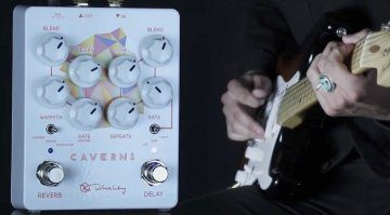 Keeley Caverns V2 Delay Reverb Pedal