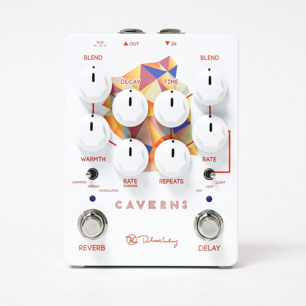Keeley Caverns V2 PEdal Close Up