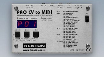 Kenton CV-MIDI Interface