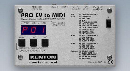 Kenton CV-MIDI Interface