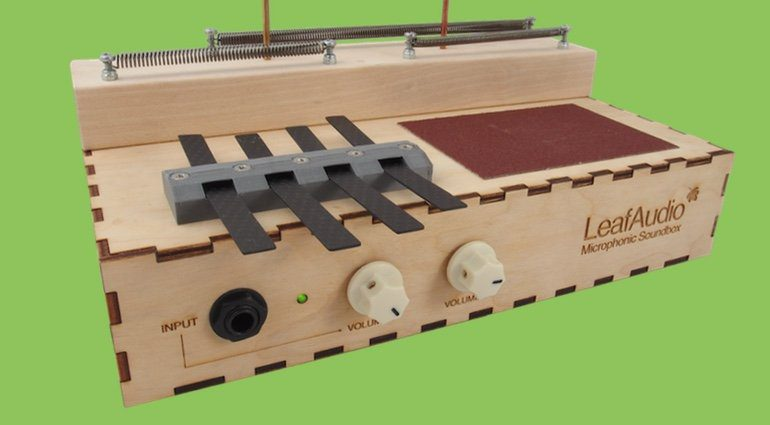 Leaf Audio Microphonic Soundbox DIY Kit Front