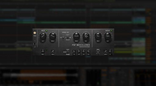 PSP Nexcellence Spring Reverb Plug-in GUI