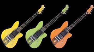 Reverend Super Rev Serie E-Gitarren Front