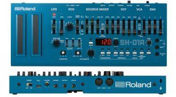 Roland SH-01A Front Rueckseite Blau