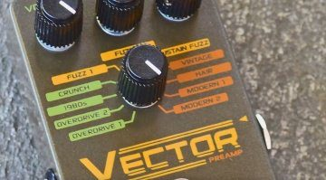 Subdecay Vector Preamp Pedal Front Close