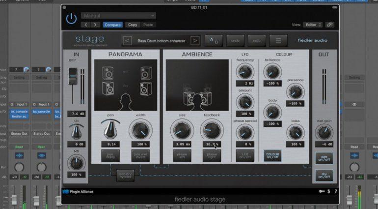 Plugin Alliance The Fiedler Audio Stage macht den Raum räumlicher